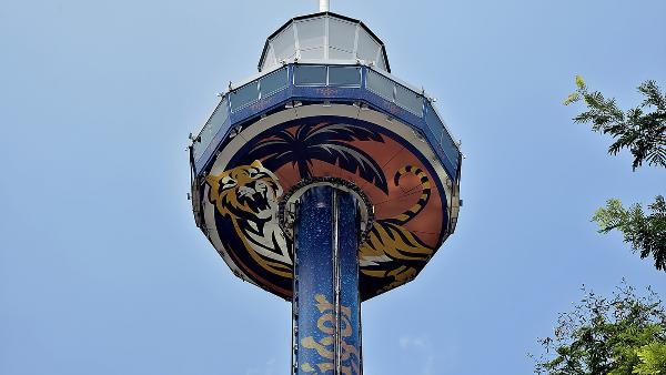 В Сингапуре открыли 130-метровый аттракцион