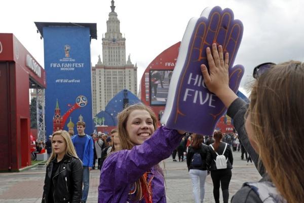 Фестиваль болельщиков FIFA на Воробьевых горах в день открытия посетили 25 тысяч человек