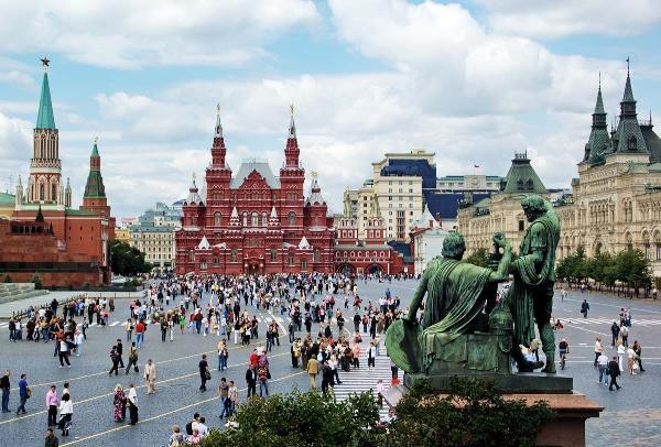 Москву в прошлом году посетили около 138 тысяч французских туристов