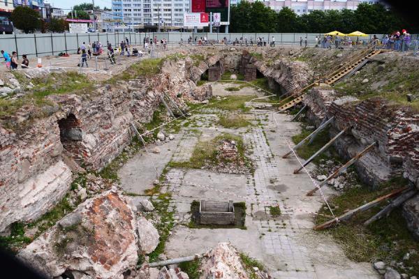 В Калининграде откроют для посещения руины королевского замка