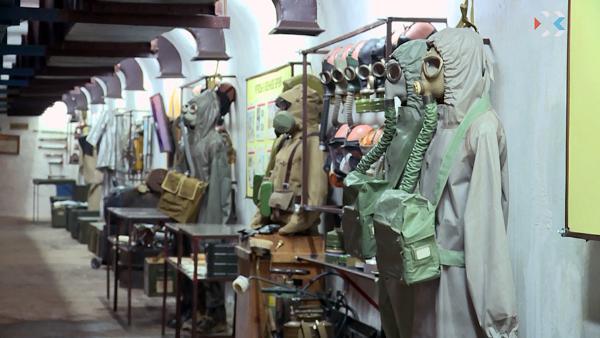 В Севастополе на базе действующего противоатомного убежища открыли музей