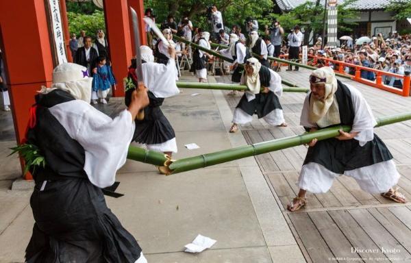 «Такекири-ёсики»: ритуал разрезания бамбука в Киото