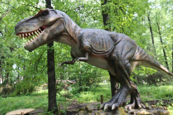 В Уфе открылся парк динозавров