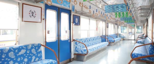 Морской поезд «Мэдэтаи» в Вакаяме