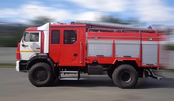 На пожаре в крымском пансионате пострадали пять человек