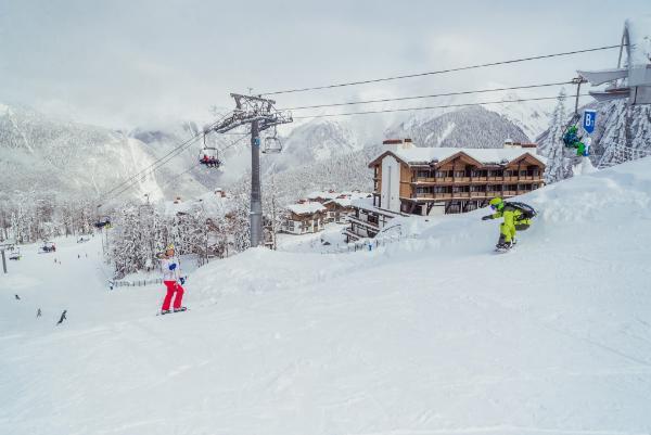 Две новые трассы построят на горнолыжном курорте «Газпрома» в Сочи
