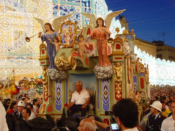 Феста ди Мария Сантиссима делла Бруна в Матере - 2 июля