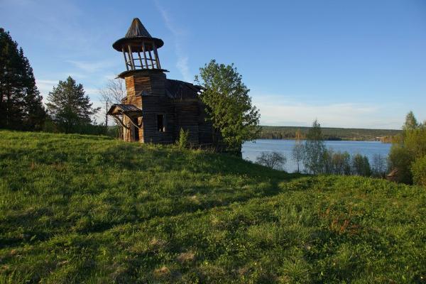 В Карелии погибает деревня с оригинальной архитектурой