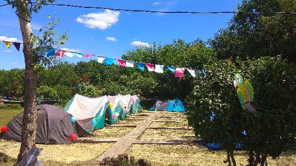 В Крыму закрыли незаконный детский палаточный лагерь