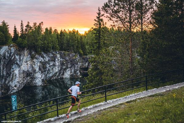 В Карелии пройдет II международный ночной забег Eco Trail Ruskeala