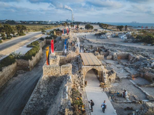 В Национальном парке Кейсарии в Израиле открыли новый пешеходный маршрут