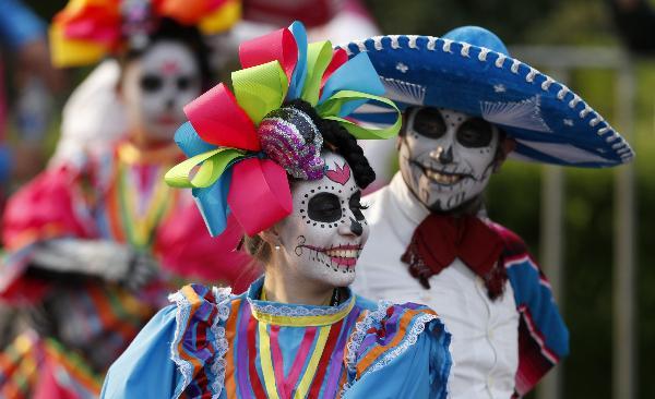 Мексиканский праздник «День Мертвых» отметят в центре Москвы 29 июня в рамках ЧМ-2018