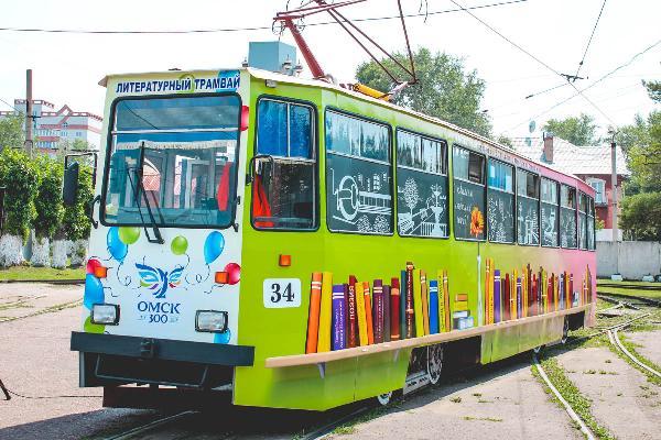 «Исторический трамвай» будет курсировать по улицам Омска