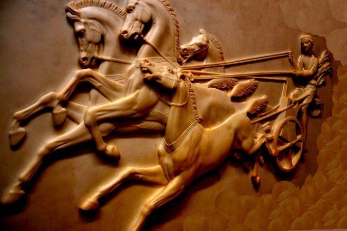 В Индии раскопали колесницу бронзового века