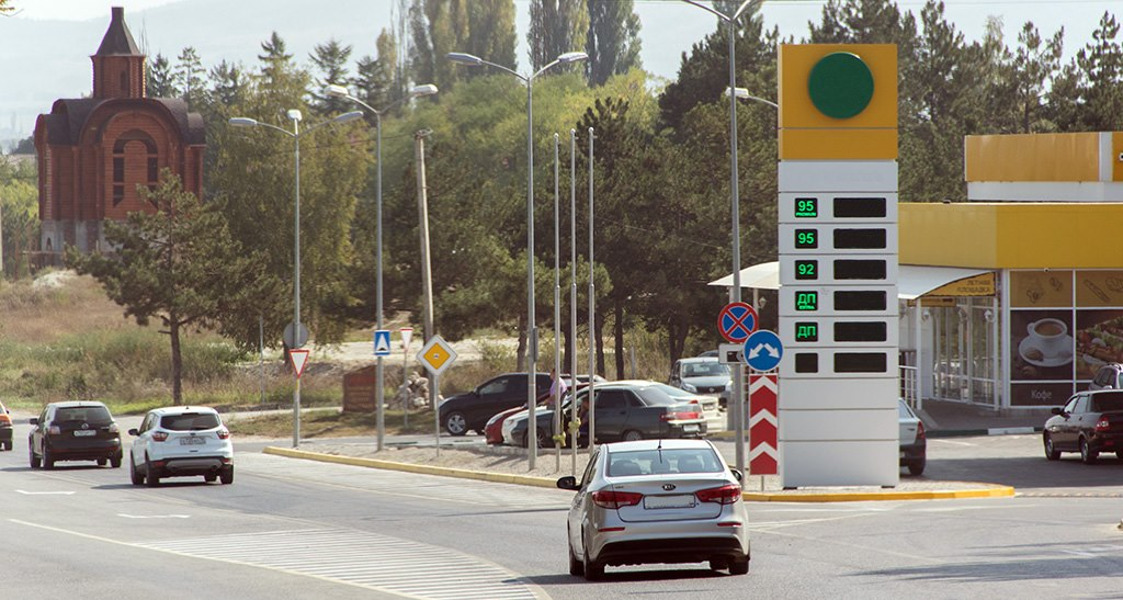 Крымчане объявляют бойкот АЗС из-за стремительного роста цен на бензин