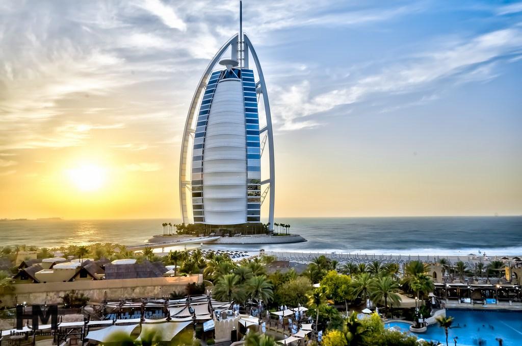 В Дубае наблюдается рост отелей в первом квартале.