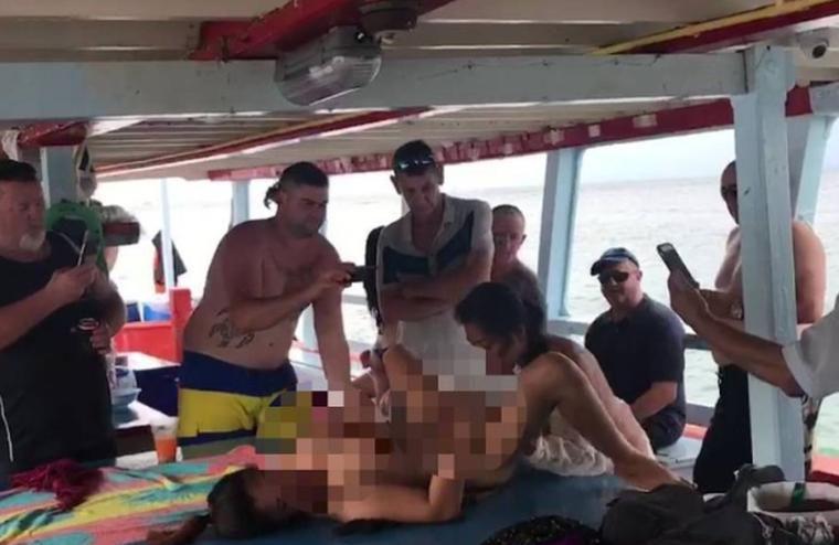 Travel Sturtup: В Таиланде арестован австралиец, который организовал секс-оргию на корабле в Паттайе