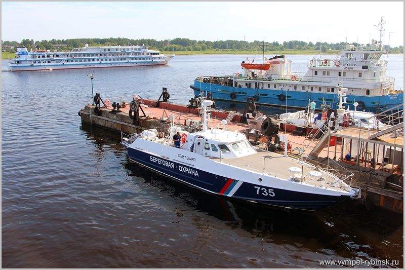 Пограничники получили новый скоростной катер для патрулирования Чёрного моря