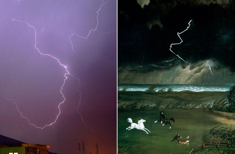 Художники веками рисовали молнию неправильно