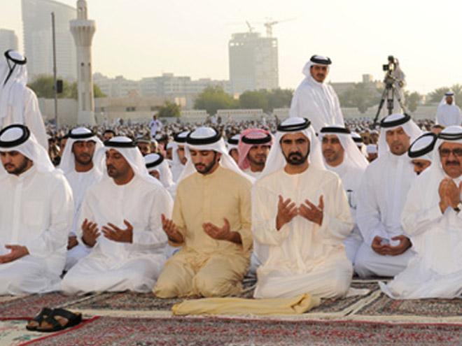 Правители обмениваются поздравлениями с Ид-аль-Фитр.