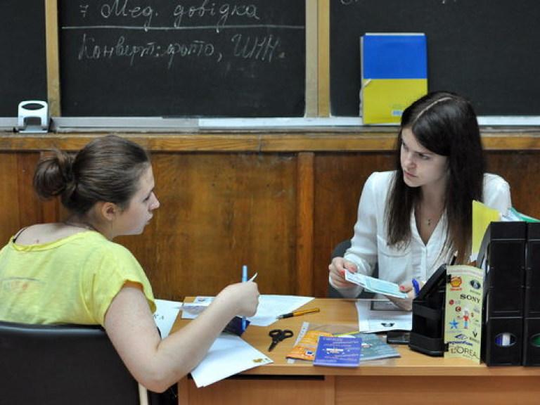 Крымчане не выбрали даже 10% квоты на поступление в украинские вузы