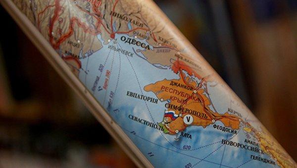 Дипломаты РФ посоветовали ЦРУ показать Крым на карте России