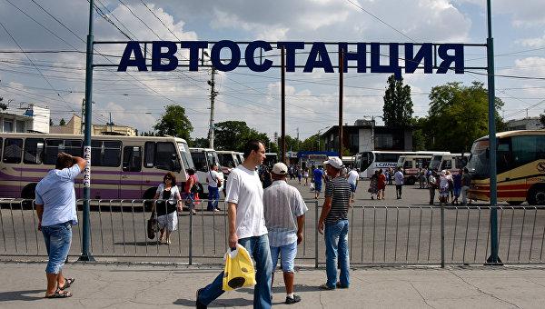 На автостанциях Крыма устанавливают системы видеонаблюдения