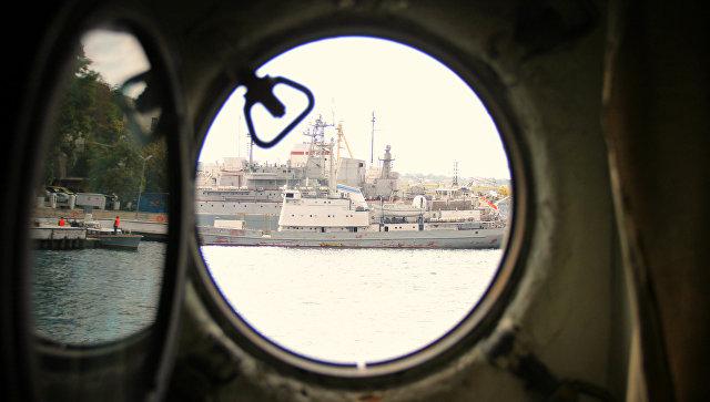 Поражение врага на земле, воде и в небе: учения большого десантного корабля ЧФ