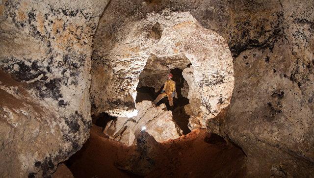 Километровую пещеру с останками мамонтов нашли в Крыму