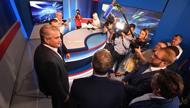 """В Крыму заработала телекомпания """"Таврида"""""""