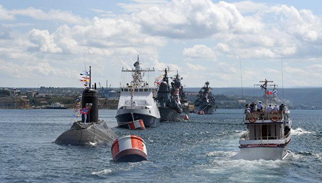 В Севастополе прошла генеральная репетиция перед Днем ВМФ