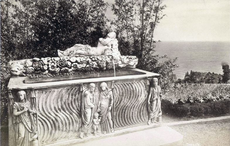 Ливадия. Скульптура