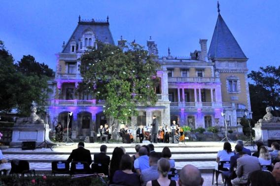 В Массандровском дворце очаровывали классической музыкой