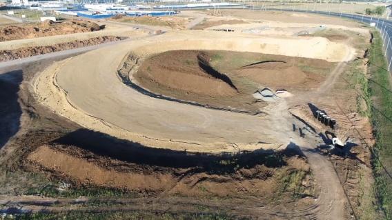 В Крыму строят развязку у аэропорта