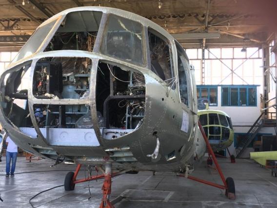 У Севастопольского вертолетного завода есть заказы