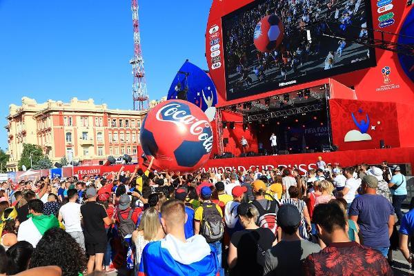 Болельщики из 103 стран посетили Ростов-на-Дону за время ЧМ-2018