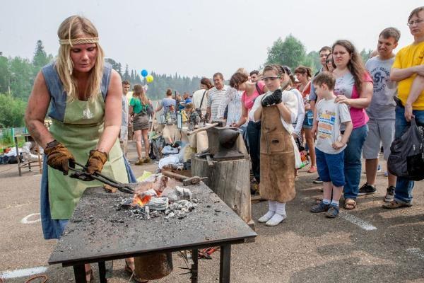 Рыцарский турнир и конкурс кузнецов пройдут в томском селе 21 июля