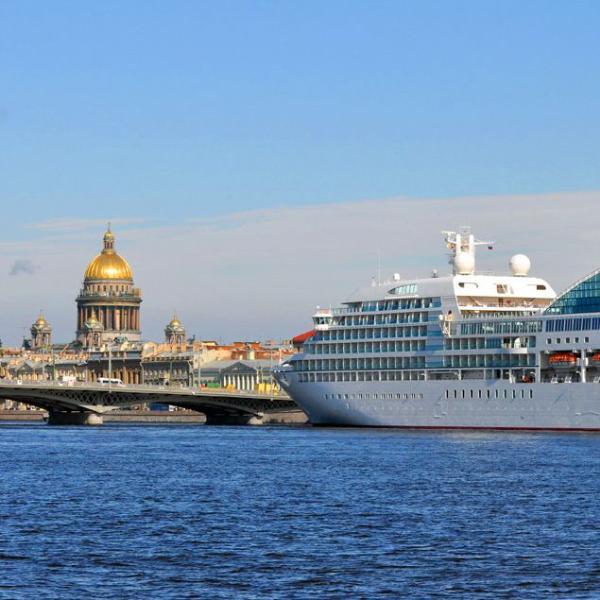Петербург признан лучшим в Европе круизным направлением