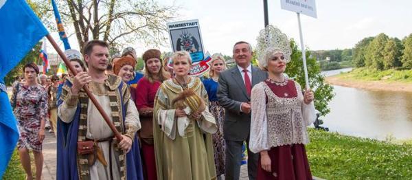 Великий Новгород принял участие в Русских Ганзейских днях в Вологде