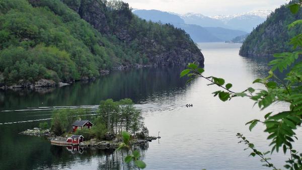 Новую смотровую площадку открыли в Норвегии