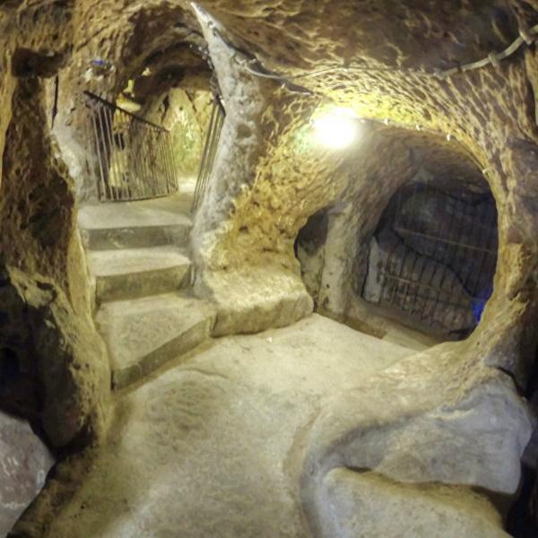Турция открывает для туристов подземные города первых христиан