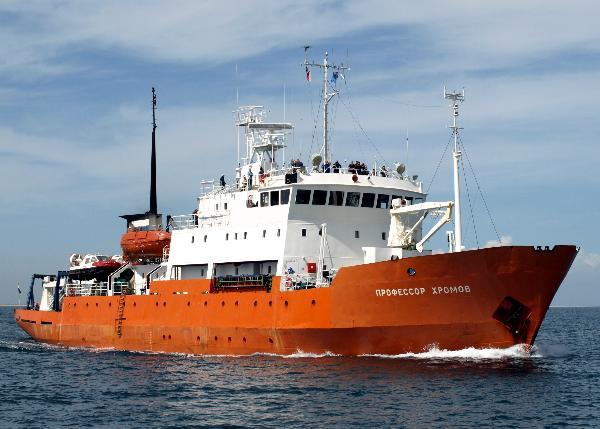 Первое в этом летнем сезоне круизное судно зашло в Анадырь
