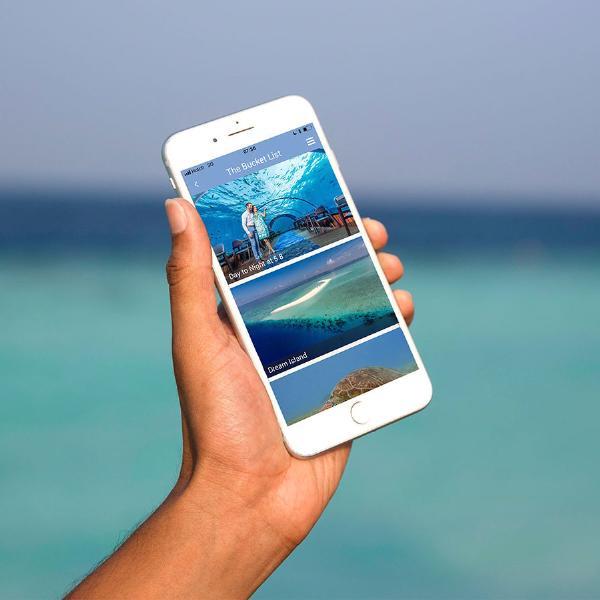 Планируйте отпуск вместо с приложением Hurawalhi Maldives!