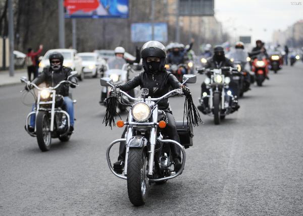 Около тысячи российских и зарубежных байкеров приедет на мотопарад в Ярославль