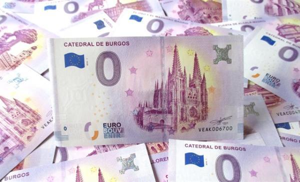 Купюра ноль евро появилась в Испании