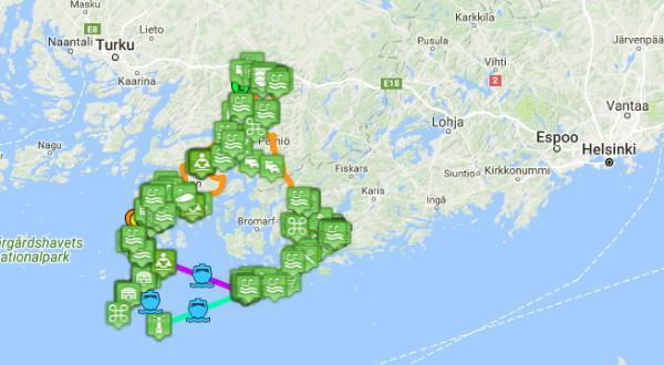 Велосипедный маршрут по самым живописным местам Финляндии