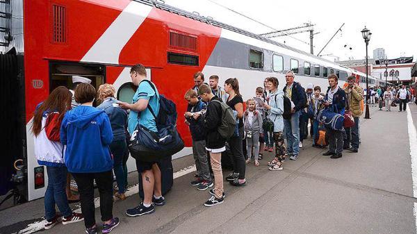 Около 319 тысяч болельщиков воспользовались бесплатными поездами во время ЧМ-2018