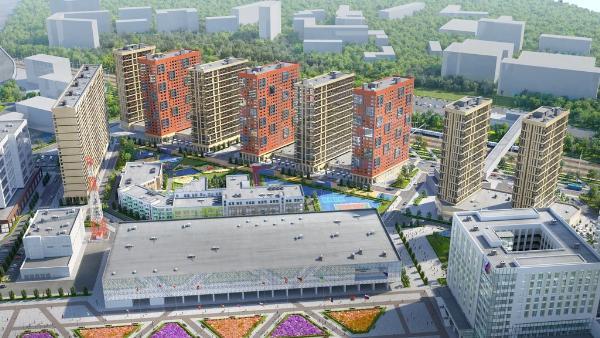 Гостинично-деловой комплекс появится рядом с музеем хоккея в Москве