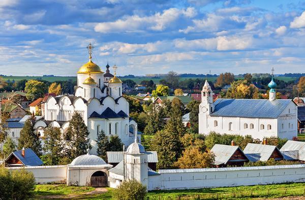 РСТ: спрос на экскурсии по городам «Золотого кольца России» по-прежнему падает