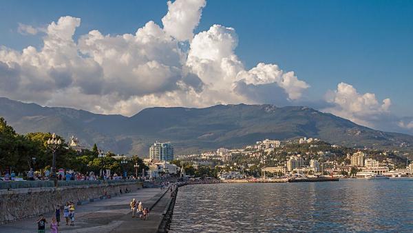 Ялта возглавила рейтинг самых популярных курортов Крыма